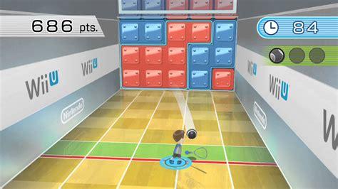 wii fit u puzzle squash hd gameplay