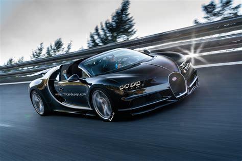 Bugatti Chiron Roadster by Render Bugatti Chiron Grand Sport Roadster