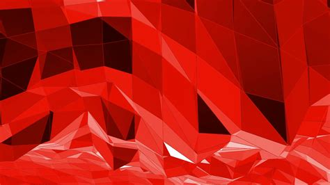 abstract red  poly surface  cartoon modern background