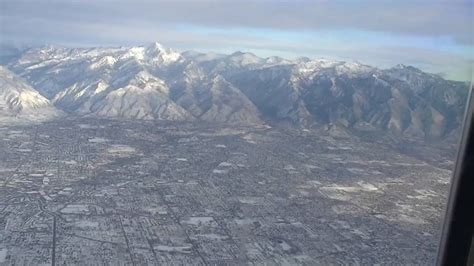 salt lake city aerial views wasatch mountains youtube