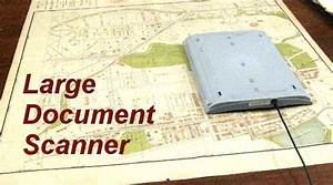 hacking a flatbed scanner to scan very large documents With scanner large documents