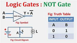 Not Gate Explained In Hindi-