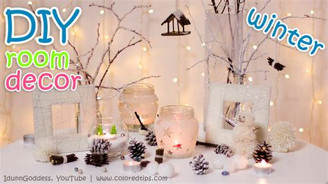 diy winter room decor ideas youtube