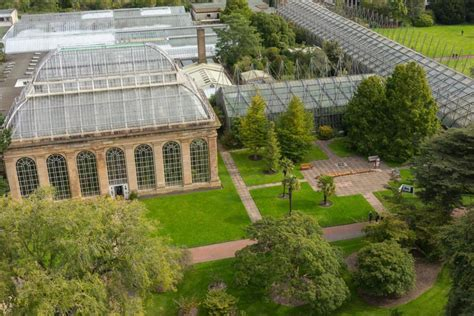 kebun raya kerajaan edinburgh  atraksi  populer  skotlandia