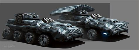 the armored personnel carrier of the alliance military whether it be funding from the alliance