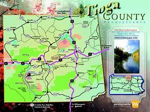 Pennsylvania Mileage Chart Potter County Maps Tioga County Maps Maps Of Potter