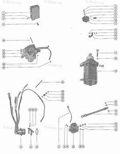 Mercury Mercury  U0026 Mariner Outboard Parts By Hp  U0026 Liter 50hp Oem Parts Diagram For Starter Motor
