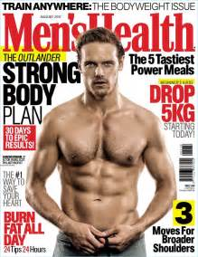 Sam Heughan Covers Men's Health South Africa, Reveals ...