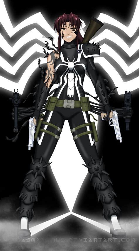 Revy Black Lagoon Wallpaper Agent Venom Revy By Atlasmaximus On Deviantart