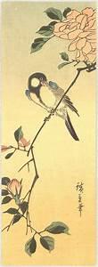 Utagawa Hiroshige: Bird and Flowers - Artelino - Ukiyo-e ...