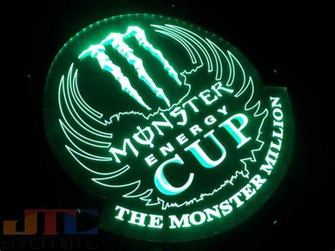 kacgb monster energy monster energy cup led  neon