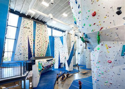 climbing gym rock allez indoor vigeant smith architectes montreal centre escalade brugger interior into facility industrial architecture architizer facilities climbers