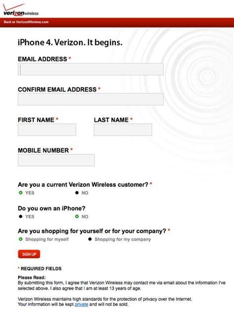 phone number to verizon how to order your verizon iphone 4 today existing verizon