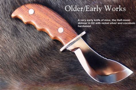 skinning knife designs the business of knifemaking by fisher