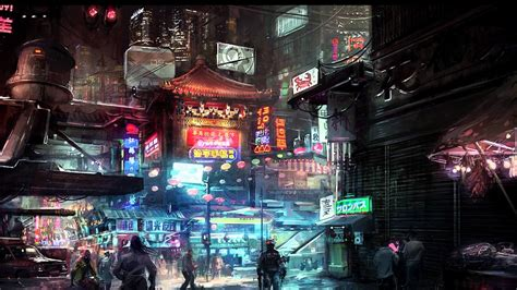 Permalink to Wallpaper Cyberpunk City