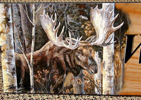 Moose R Us.Com Wildlife Artist Jeff Renner