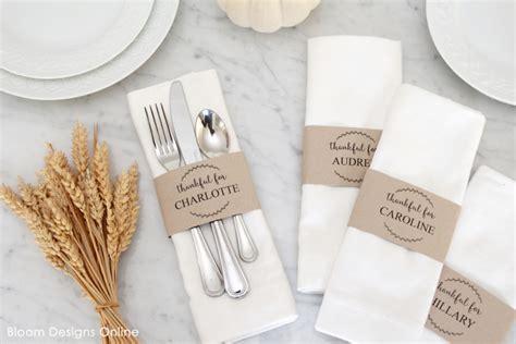 printable thanksgiving menu  place cards