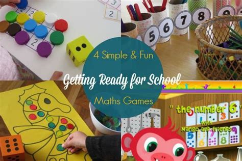 maths activities   ready  school learning