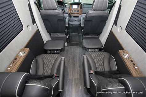 Many of those rvs are built from mercedes sprinter vans and include plumbing and other features that are. Luxury Custom 4X4 6 Passengers With Bathroom And Galley-Miller Time in 2020 | Passenger, Stealth ...