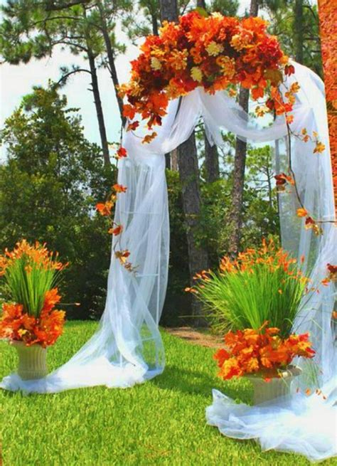 Fall Wedding Arches Wedding Stages ⓛⓞⓥⓔ⁂⁂ Pinterest