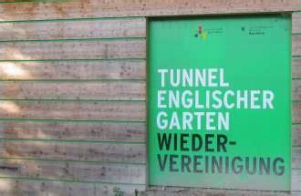 Englischer Garten Untertunnelung by Wiedervereinigung Englischer Garten M 252 Nchen