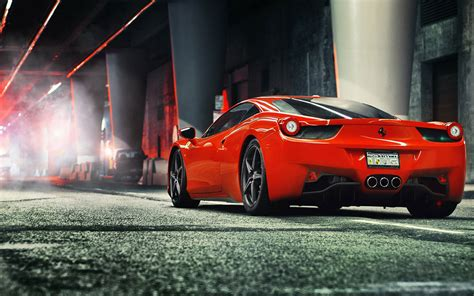 Widescreen Cool Sports Car Hd Wallpaper 7 - Auto