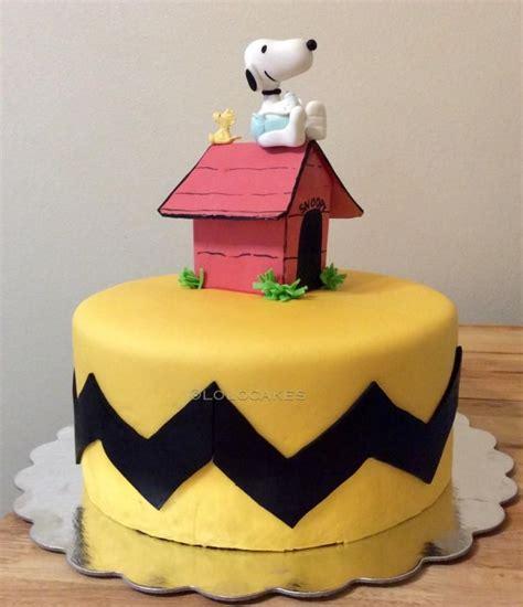 snoopy woodstock cake  muhloy peanuts cake cakes