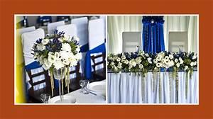 Tischdeko Blau Weiß : blaue tischdeko mit wei en blumen ~ Markanthonyermac.com Haus und Dekorationen