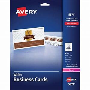 Avery business card ave5371 shopletcom for Avery printable business cards