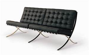 Shop barcelona sofa by mies van der rohe 71quot for only 1695 for Sofa barcelona couch