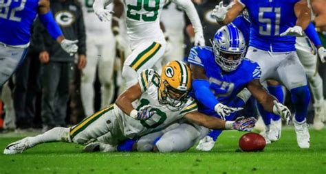 detroit lions  cheated    win  green bay packers