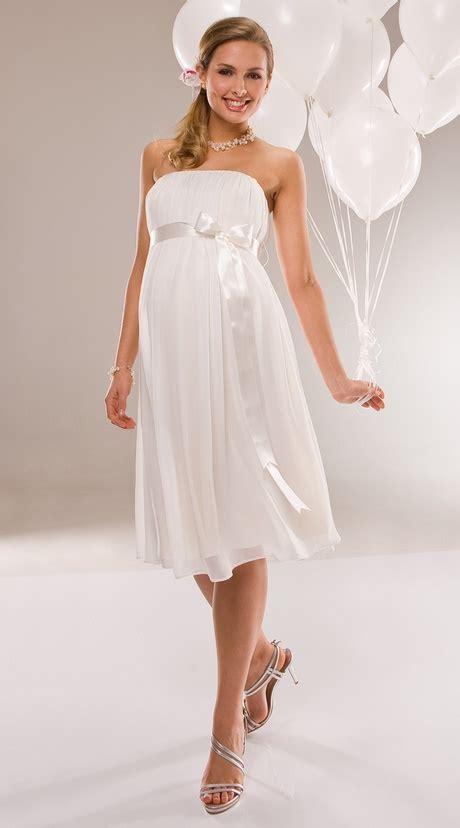 weißes kleid schwanger wei 223 es kleid umstandsmode