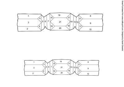 cracker template printable cracker iris folding pattern cup160014 172 craftsuprint
