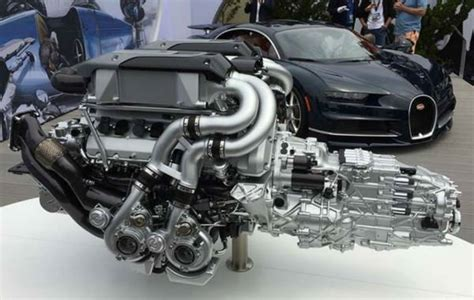 What's the difference between bugatti and other automobile brands? 2019 Bugatti Chiron Engine
