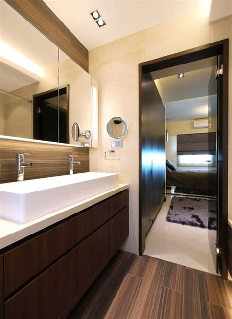 mordern indian apartment contemporary bathroom hong