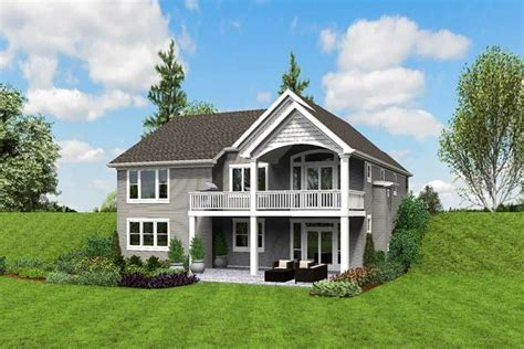 Plan 69661AM: Cute Craftsman House Plan with Walkout