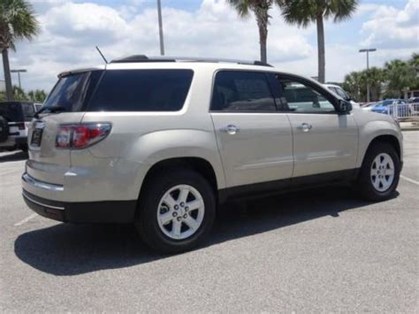 find   gmc acadia sle    state road