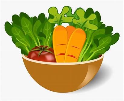 Vegetable Clipart Bowl Clip Transparent Arts Dish