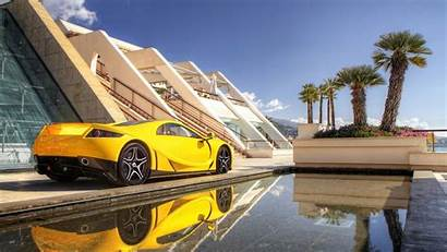 Gta Spano Background Wallpapers Yellow Supercar Cars