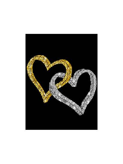Hearts Silver Golden Mobile Za Gold Heart