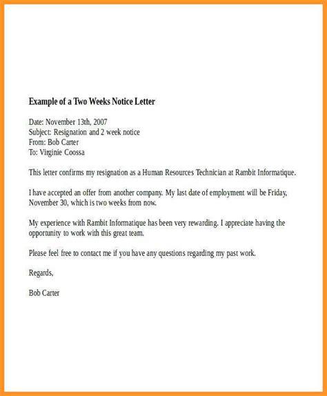 letter  notice leaving job southbeachcafesfcom