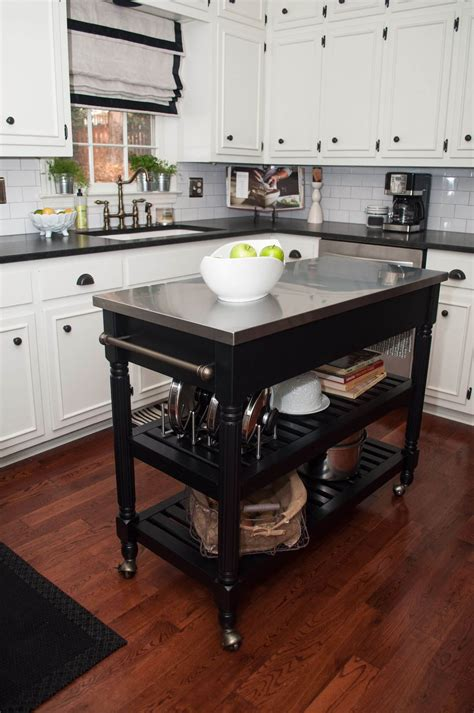 types  small kitchen islands carts  wheels