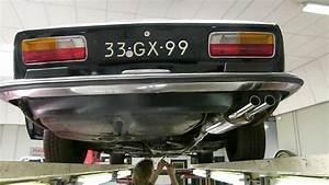 Peugeot 504 Coupe V6 Van Bouwjaar 1975 Met Maatwerk Rvs