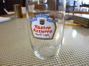 bicchieri peroni bicchieri per peroni nastro azzurro posot class