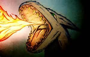 Fire-Breathing Dragon Drawings