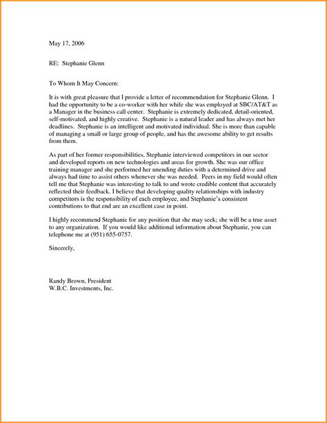 template  writing  letter  recommendation