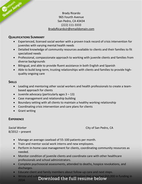 how to write a social work resume 28 images social how to write interpersonal skills in resume 28 images