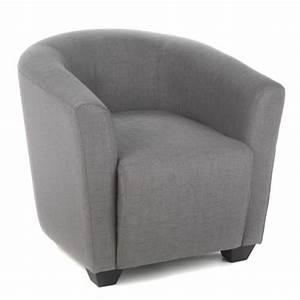 Fauteuil Gris Conforama : fauteuil cabriolet topiwall ~ Teatrodelosmanantiales.com Idées de Décoration