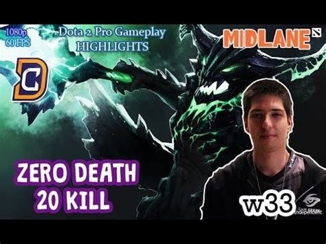 w33 plays outworld devourer guide to zero death 20 kill dota 2 patch 7 00 mmr pro gameplay
