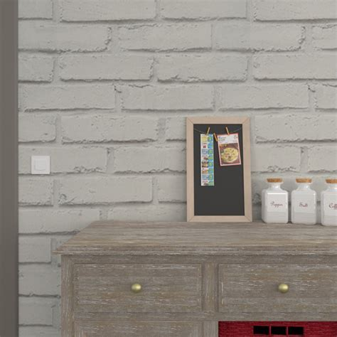 papier peint uni pour cuisine papier peint vinyle loft brique coloris gris perle gris beton papier peint 4murs